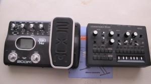 """Uno de los dispositivos electrónicos usados para la música de """"Versus"""""""