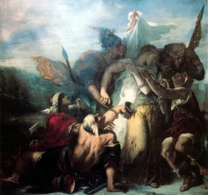 """""""El cantar de los cantares"""" (1853) de Gustave Moreau"""