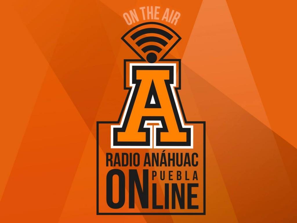 Logo de Radio Anáhuac Puebla (Imagen tomada de la página de la universidad).