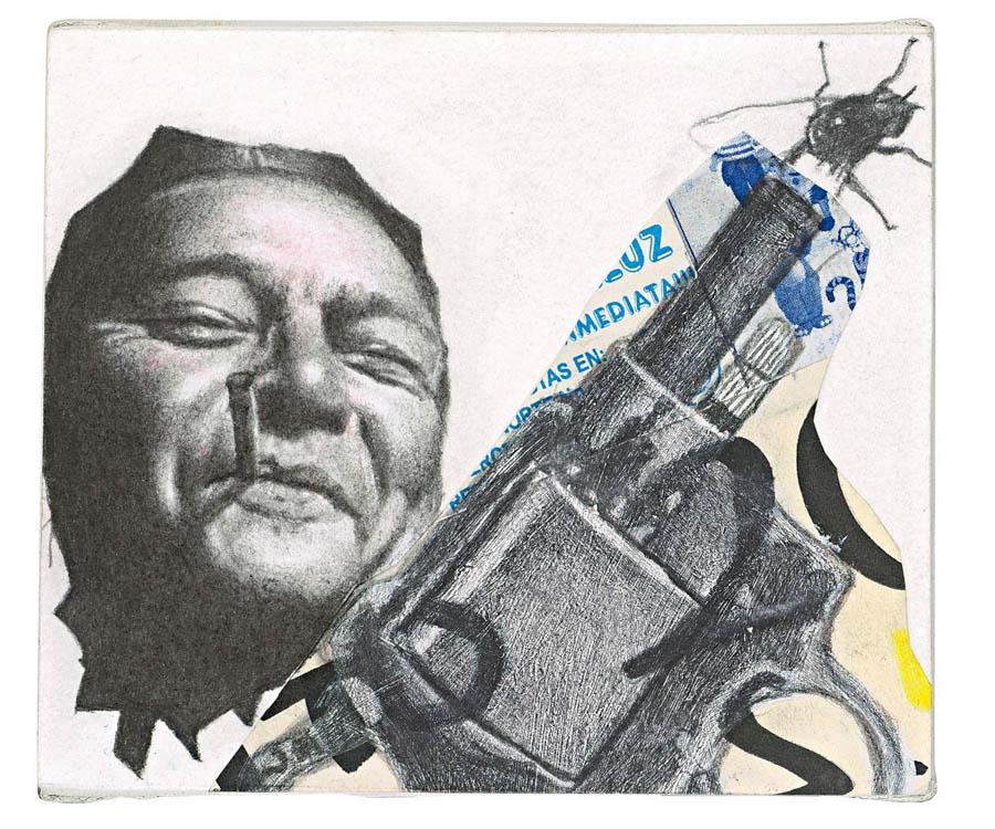 Obra de Santos Cuatecontzi | Cortesía Colección Luciano Benetton (Imagen tomada de portal Lado B).
