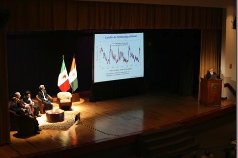 Cambio climático y desarrollo sustentable. Dr. Mario Molina. Conferencia Nobel UDLAP Primavera 2010.