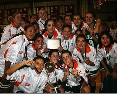 Aztecas UDLAP subcampeonas Basquetbol Femenil CONADEIP 2010. !!! Felicidades Aztecas !!!!!