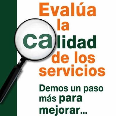 ¿Ya evaluaste la calidad de los servicios?
