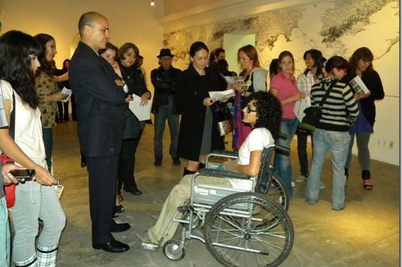 UDLAP inaugura exposición de arte en la Casa del Caballero Águila