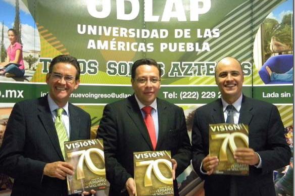 UDLAP presenta a 70 egresados exitosos en la revista Visión exaUDLAP
