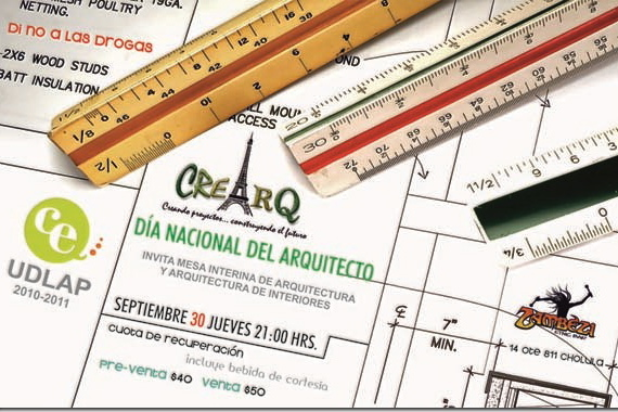 Día Nacional del Arquitecto  – Septiembre 30 21:00 hrs.