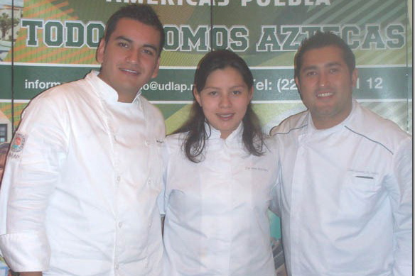 Estudiantes de la UDLAP ganan tercer lugar en concurso nacional de gastronomía