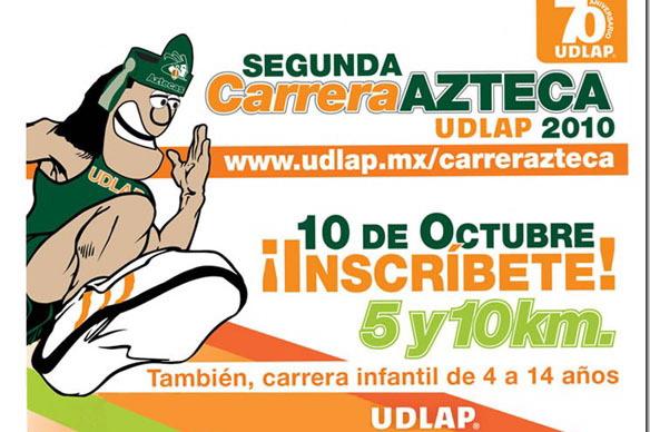 Faltan pocos días para la Segunda Carrera Azteca ¡Inscríbete!