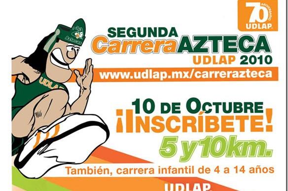 Inscribete en la Segunda Carrera Azteca