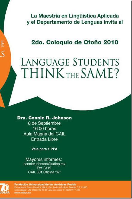 Do language teachers and language students think the same?