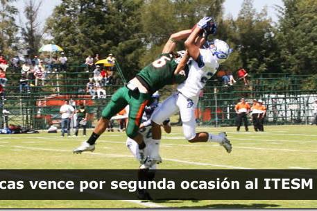 Aztecas vence por segunda ocasión al ITESM CEM