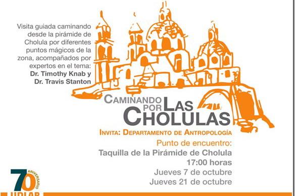 Caminando por Las Cholulas
