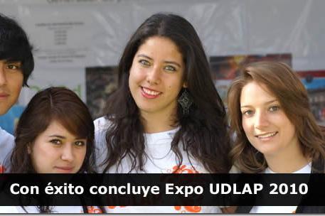 Con éxito concluye Expo UDLAP 2010