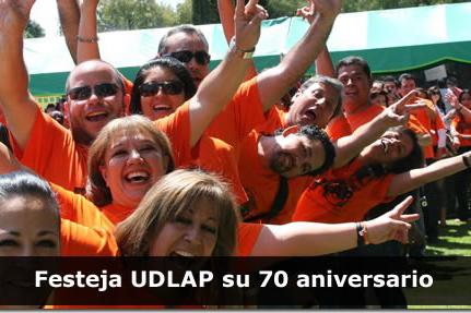 Festeja UDLAP su 70 aniversario