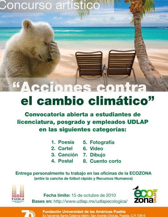 Acciones contra el cambio climático.