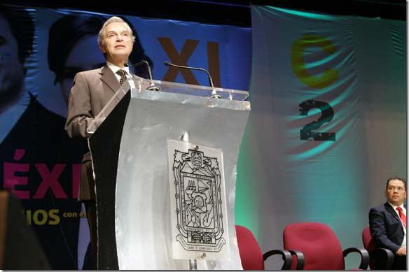 México debe retomar su papel de liderazgo internacional: Derbez Bautista