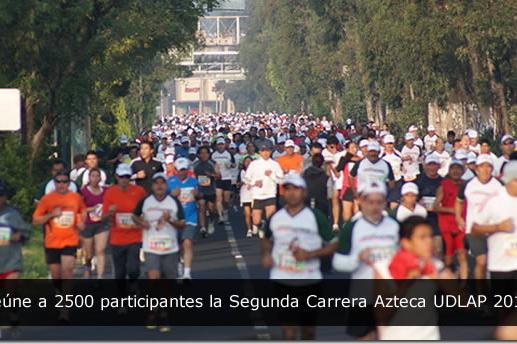 Reúne a 2500 participantes la Segunda Carrera Azteca UDLAP 2010
