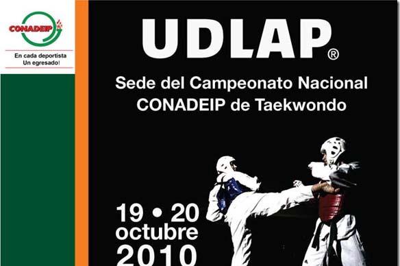 Apoya al equipo de Aztecas Taekwondo en el Campeonato Nacional CONADEIP.