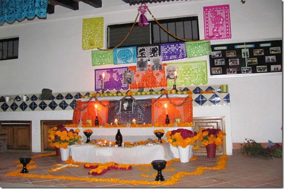 Altar de muertos del Departamento de Antropología