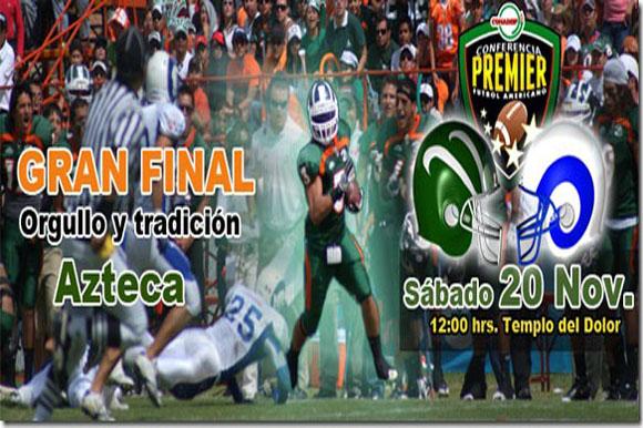 Aztecas UDLAP es campeón de la Liga Premier de CONADEIP