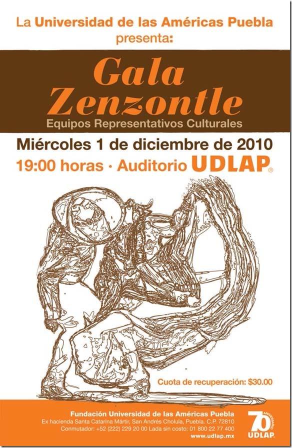 Gala Zenzontle: Equipos Representativos Culturales