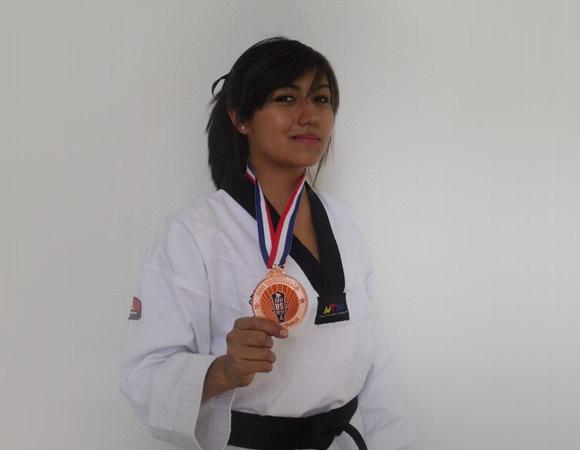 Aztecas de tae kwon do participaron en el US Open 2011