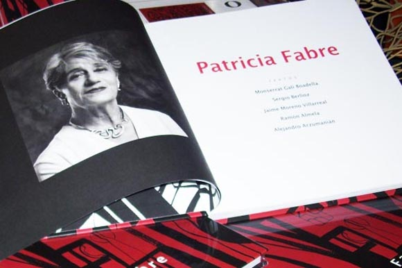 """Patricia Fabre presenta el catálogo y la exposición """"Signos Subjetivos"""""""
