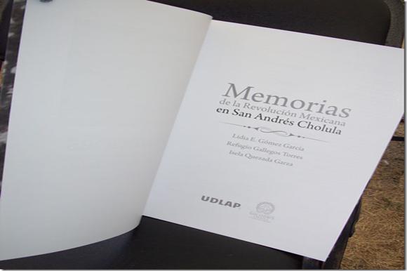 """UDLAP Y BUAP presentan los libros """"San Andrés Cholula, en busca de su identidad 1750-1810"""" y """"Miradas de la Revolución Mexicana en San Andrés Cholula"""""""