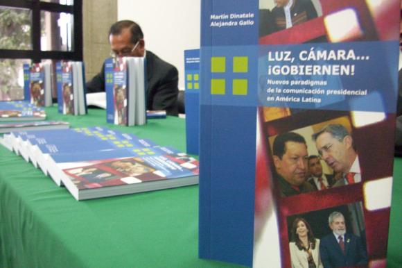 """UDLAP presenta el libro """"Luz, Cámara… ¡Gobiernen!"""""""