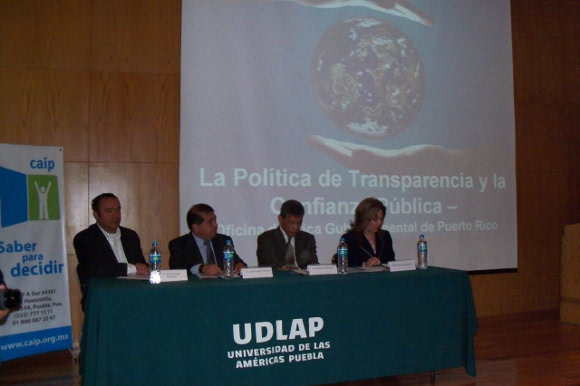 Transparencia, eje fundamental para gobernar