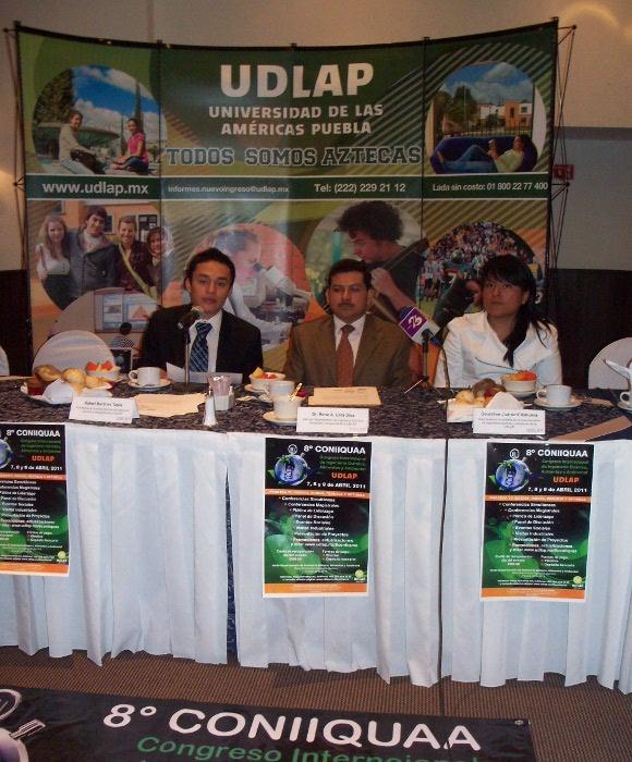 Contaminantes orgánicos, aguas residuales y medicina regenerativa serán temas analizados en CONIIQUAA 2011