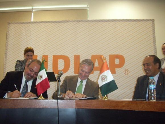 UDLAP e IMTA firman convenio de colaboración
