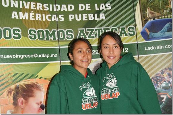 Se reintegran seleccionadas nacionales a entrenamientos con Aztecas de la UDLAP