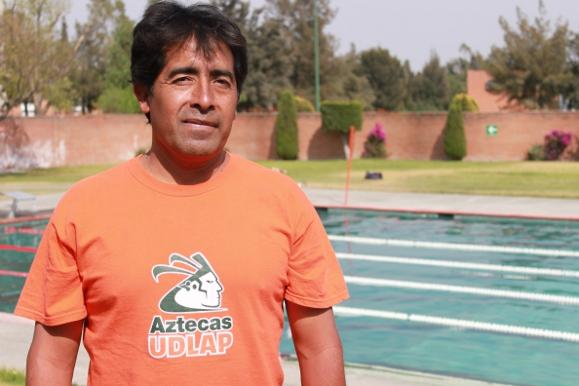 Entrevista con Jorge Coyotl entrenador de Natación