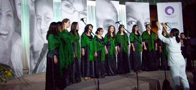 Coro UDLAP se presenta ante mujeres poblanas en el día internacional de la mujer