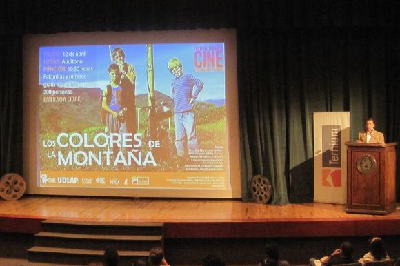Se lleva a cabo en la UDLAP el Festival Ternium Cine Latinoamericano