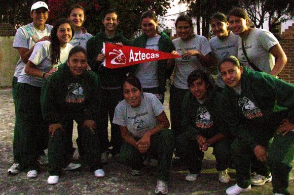 Aztecas de soccer femenil invictas a la semifinal de CONADEIP
