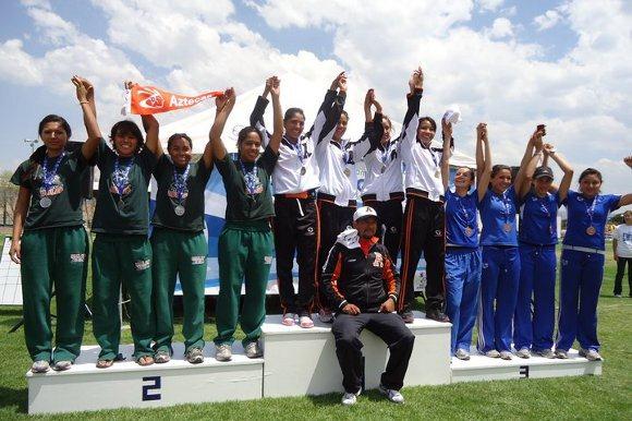 Exitosa participación de Aztecas de atletismo en los Campeonatos Nacionales CONADEIP