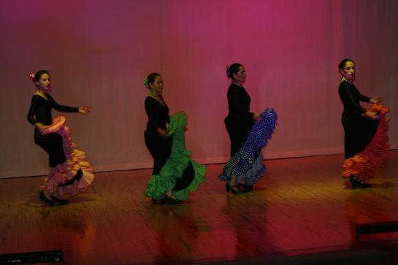 Muestra de talleres de Baile Primavera 2011