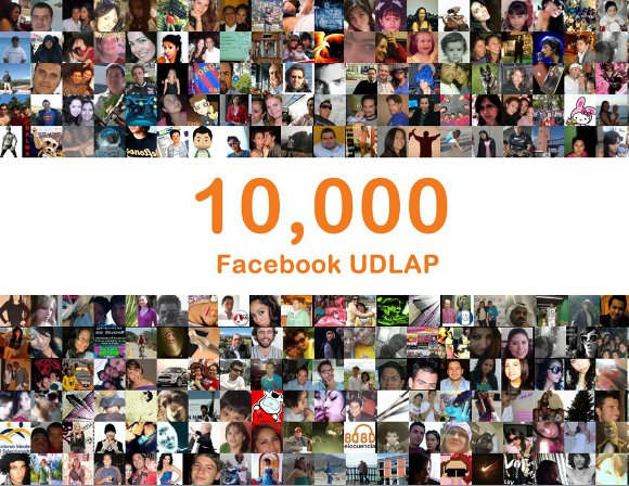 La UDLAP llega a 10,000 seguidores en Facebook y es líder universitario nivel nacional en el uso de medios sociales