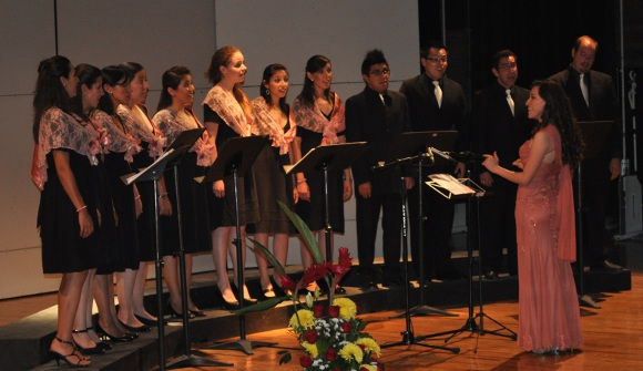"""""""La música coral y su interpretación"""", concierto de Eva Jessica Sánchez en el Auditorio de la UDLAP"""