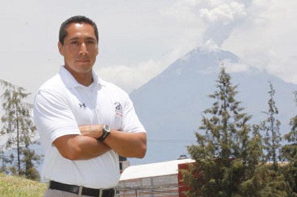 José Manuel Garduño, coach de receptores y coordinador de fuerza y acondicionamiento Aztecas UDLAP