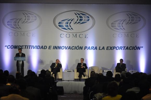 Rector de la UDLAP participa en el XVIII Congreso del Comercio Exterior Mexicano