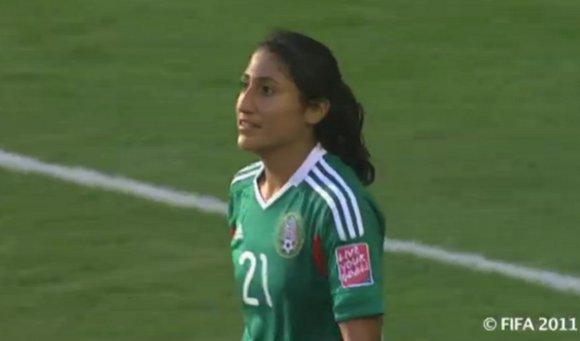 Estudiante UDLAP titular en juego contra Inglaterra en Mundial de futbol femenil Alemania 2011