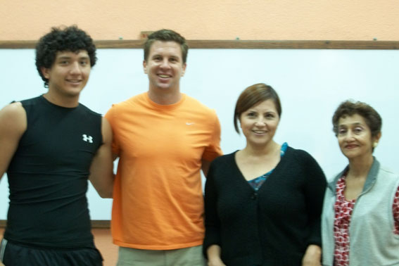 Nuevos integrantes de Aztecas FBA