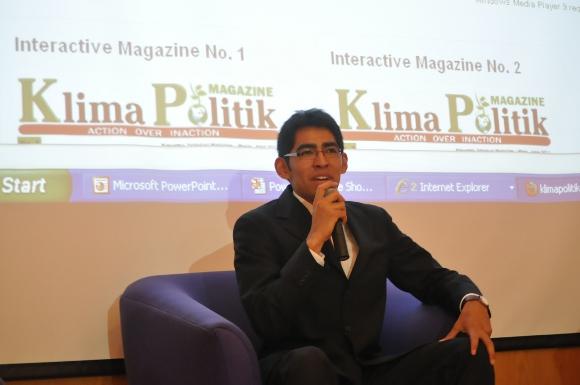 Se presenta la revista Klima Politik primera revista interactiva gratuita y trilingüe en México