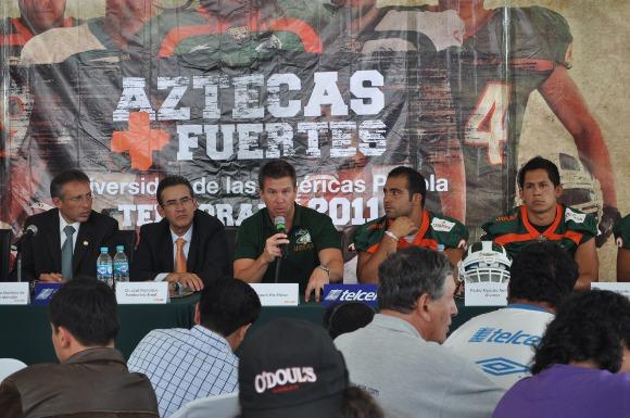 Aztecas de la UDLAP listos para el inicio de la temporada 2011