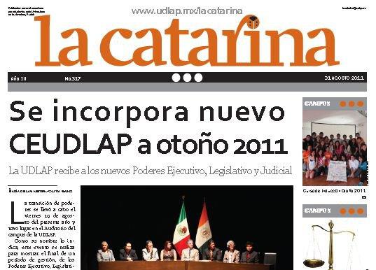 La catarina. 31 de agosto 2011