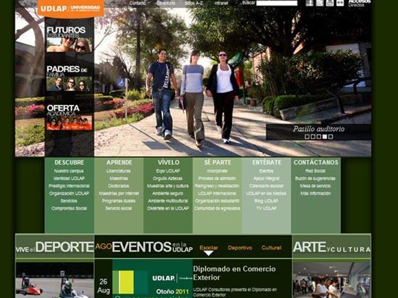 La UDLAP estrena portal en Internet