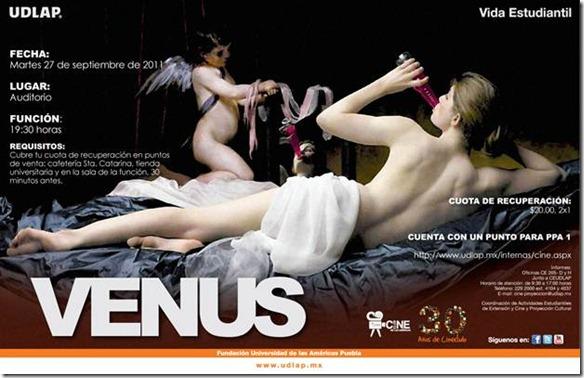 Cineclub presenta: Venus